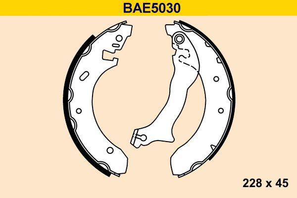 Barum Bremsbackensatz BAE5030
