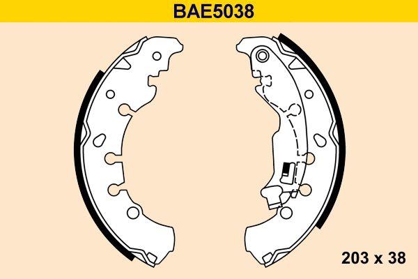 Barum Bremsbackensatz BAE5038