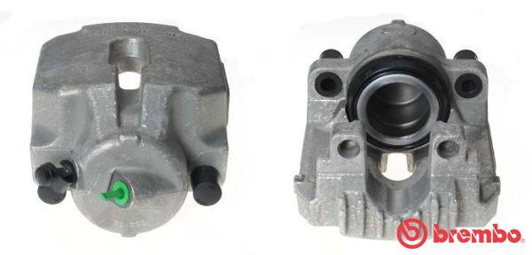 F 06 135 BREMBO Ø: 60mm, Ø: 60mm, Bremsscheibendicke: 24mm Bremssattel F 06 135 günstig kaufen