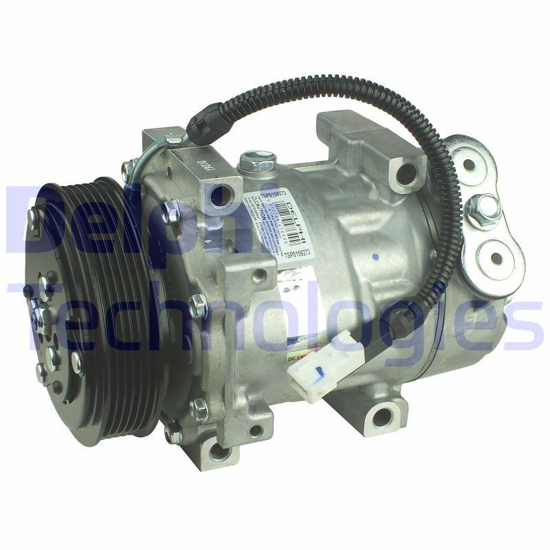 DELPHI: Original Kompressor Klimaanlage TSP0159273 (Riemenscheiben-Ø: 119mm)