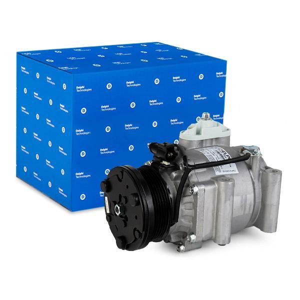 MAZDA CX-3 Kompressor Klimaanlage - Original DELPHI TSP0159310 Riemenscheiben-Ø: 98mm