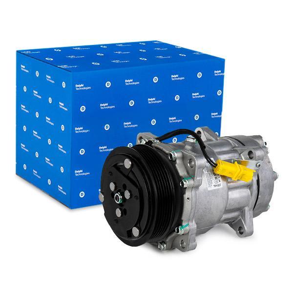 DELPHI: Original Kompressor TSP0159337 (Riemenscheiben-Ø: 119mm)