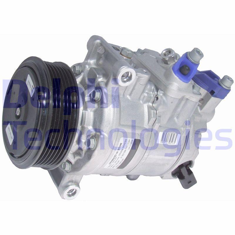 TSP0159969 DELPHI PAG 46, mit PAG-Kompressoröl Riemenscheiben-Ø: 100mm Klimakompressor TSP0159969 günstig kaufen