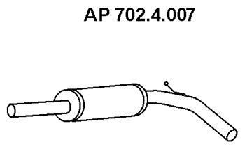 EBERSPÄCHER: Original Vorschalldämpfer 702.4.007 ()