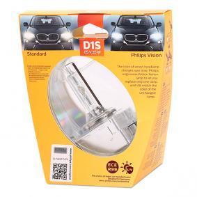 36489733 PHILIPS Xenon Vision 35W, D1S (Gasurladdningslampa), 85V Glödlampa, fjärrstrålkastare 85415VIS1 köp lågt pris