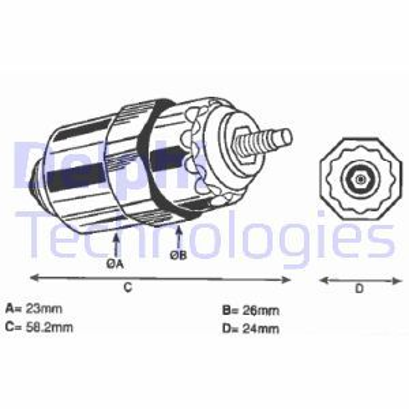Reifendruckkontrolle DELPHI 9001-963
