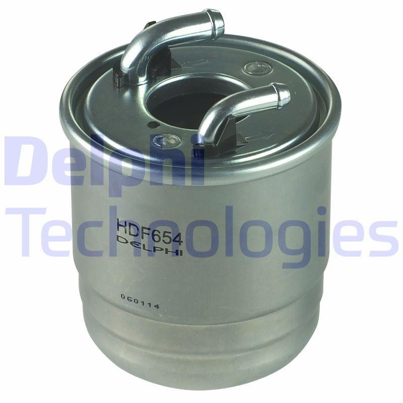 HDF654 DELPHI Kraftstofffilter HDF654 günstig kaufen