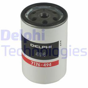 DELPHI Bränslefilter HDF494 - köp med 21% rabatt