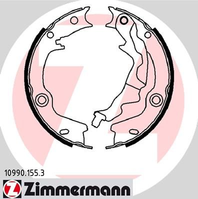 ZIMMERMANN Bremsbackensatz, Feststellbremse 10990.155.3
