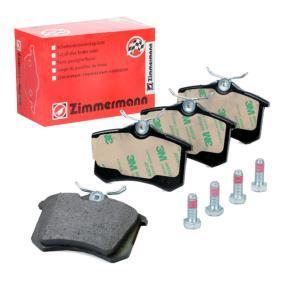 D11128216 ZIMMERMANN Höhe: 53mm, Breite: 87mm, Dicke/Stärke: 15mm Bremsbelagsatz, Scheibenbremse 20961.152.1 günstig kaufen