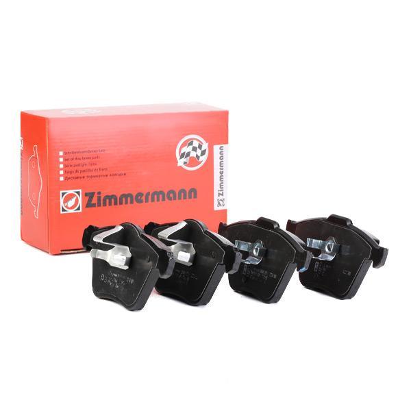 ZIMMERMANN Bremsbelagsatz, Scheibenbremse 24141.195.1
