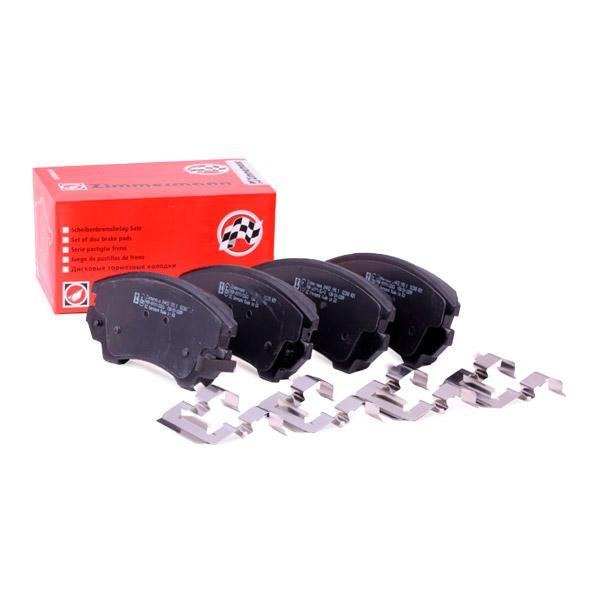 Scheibenbremsbeläge ZIMMERMANN 24412.190.2