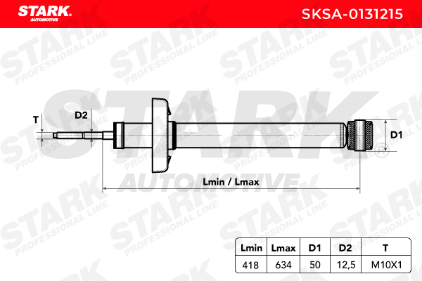SKSA0131215 Амортисьор STARK SKSA-0131215 - Голям избор — голямо намалание