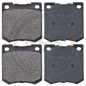 disc brake Front Axle LP23 Brake Pad Set