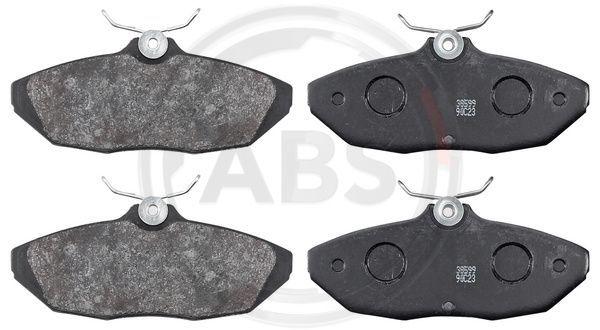 FORD USA THUNDERBIRD 2000 Bremsbeläge - Original A.B.S. 38599 Höhe 1: 47,8mm, Breite 1: 114mm, Dicke/Stärke 1: 16,6mm
