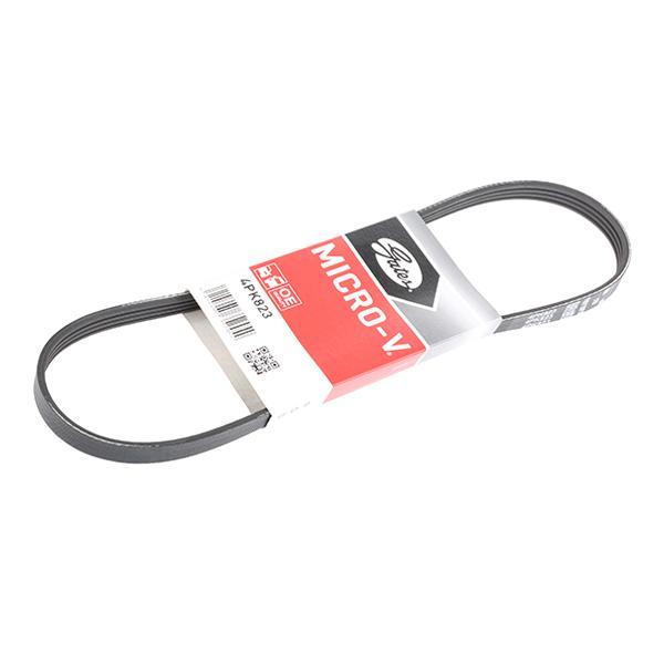 Köp GATES 4PK823 - Multirem till Ford: Ribbantal: 4, L: 823mm