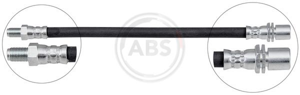 A.B.S.: Original Bremsschläuche SL 2546 (Gewindemaß 1: INN. M10x1, Gewindemaß 2: OUT. M10x1)