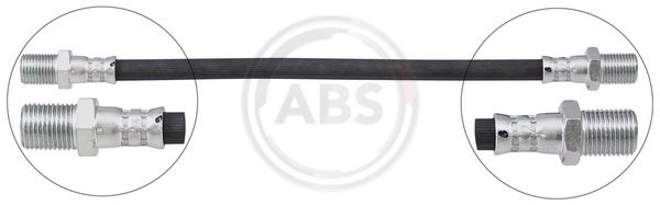 A.B.S.: Original Bremsschlauch SL 3274 (Gewindemaß 1: OUT.16x1.5, Gewindemaß 2: OUT.16x1.5)