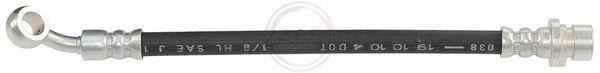 A.B.S.: Original Bremsschlauch SL 6195 (Gewindemaß 1: BANJO 10.0 mm, Gewindemaß 2: INN. M10x1)