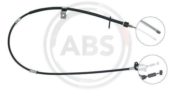 A.B.S.: Original Handbremsseil K10347 ()