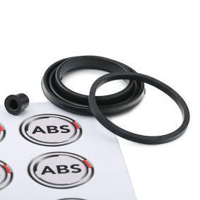 Įsigyti ir pakeisti remonto komplektas, stabdžių apkaba A.B.S. 3478