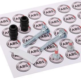ABS 55078 Juego de Casquillos Gu/ía Pinza de Freno