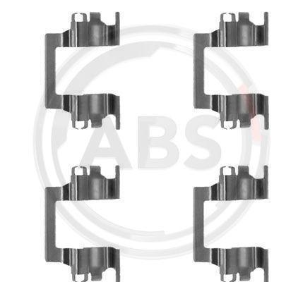 Zubehörsatz, Scheibenbremsbelag A.B.S. 1117Q Bewertungen
