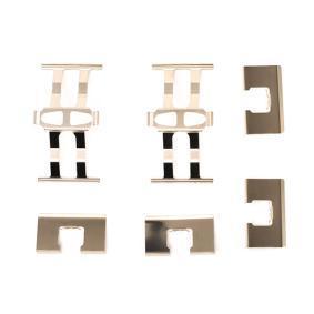 Set accesorii, placute frana A.B.S. 1118Q cumpărați și înlocuiți