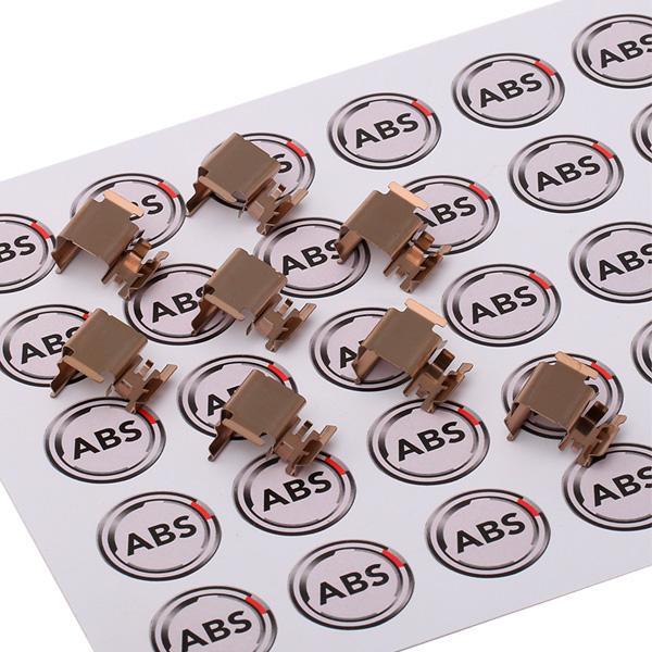 Origine Kit d'accessoires, plaquette de frein à disque A.B.S. 1298Q ()