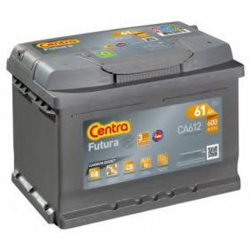 CA612 CENTRA Futura Batterie-Kapazität: 61Ah Kälteprüfstrom EN: 600A, Spannung: 12V, Polanordnung: 0 Starterbatterie CA612 günstig kaufen