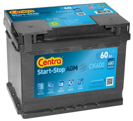 Original RENAULT Starterbatterie CK600