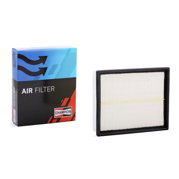 AUDI A4 2016 Luftfilter - Original CHAMPION CAF100567P Länge: 255mm, Länge: 255mm, Breite: 215mm, Höhe: 57mm