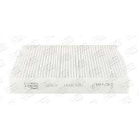 Kupte a vyměňte Filtr, vzduch v interiéru CHAMPION CCF0011