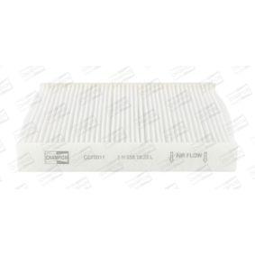 Įsigyti ir pakeisti filtras, salono oras CHAMPION CCF0011