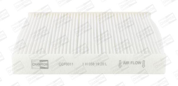 RENAULT LAGUNA 2010 Pkw-Heizung - Original CHAMPION CCF0011 Breite: 207mm, Höhe: 31mm, Länge: 210mm