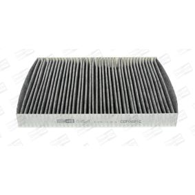 CCF0021C CHAMPION Aktivkohlefilter Breite: 219mm, Höhe: 30mm, Länge: 279mm Filter, Innenraumluft CCF0021C günstig kaufen