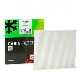 CCF0023 CHAMPION Kupéluftsfilter, Partikelfilter B: 209mm, H: 35mm, L: 233mm Filter, kupéventilation CCF0023 köp lågt pris