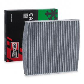 CCF0050C CHAMPION Aktivkohlefilter Breite: 213mm, Höhe: 19mm, Länge: 218mm Filter, Innenraumluft CCF0050C günstig kaufen