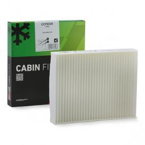 филтър, въздух за вътрешно пространство CCF0328 за FORD FUSION на ниска цена — купете сега!
