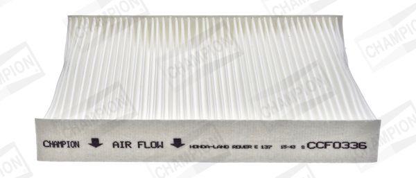 CHAMPION: Original Kabinenluftfilter CCF0336 (Breite: 200mm, Höhe: 28mm, Länge: 221mm)