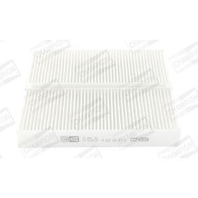 Günstige Filter, Innenraumluft mit Artikelnummer: CCF0338 jetzt bestellen