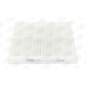 Filtr, wentylacja przestrzeni pasażerskiej CCF0338 w niskiej cenie — kupić teraz!