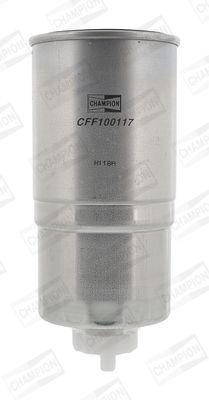 CFF100117 CHAMPION Anschraubfilter Höhe: 185mm Kraftstofffilter CFF100117 günstig kaufen