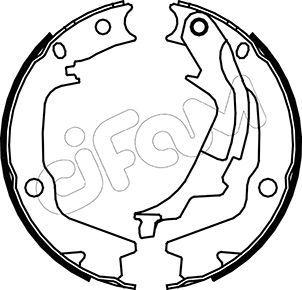 Bremsbackensatz, Feststellbremse CIFAM 153-186 Bewertungen