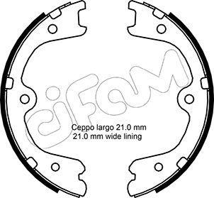 Handbremse CIFAM 153-297