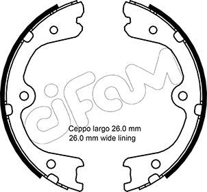 Handbremse CIFAM 153-298