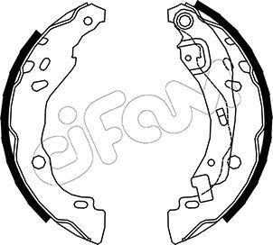 CIFAM Bremsbackensatz 153-359