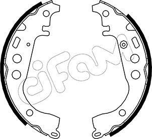 S832 CIFAM mit Zubehör Breite: 32mm Bremsbackensatz 153-431 günstig kaufen
