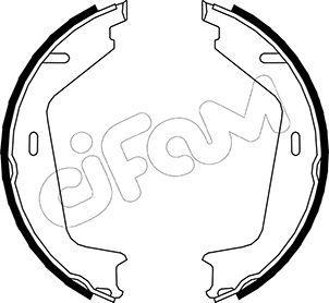 S829 CIFAM Ø: 177,8mm, Breite: 25mm, Ø: 177,8mm Bremsbackensatz, Feststellbremse 153-479 günstig kaufen