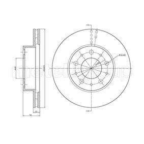 800-200 CIFAM ventilado Ø: 262,0mm, Núm. orificios: 5, Espesor disco freno: 22,0mm Disco de freno 800-200 a buen precio